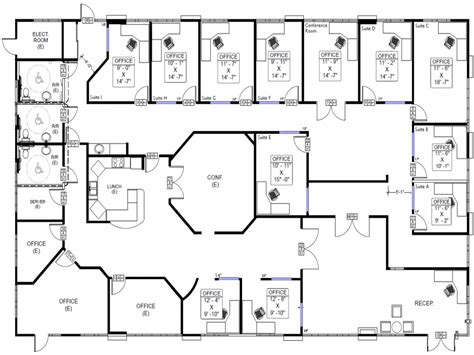 building house floor plans cool bedroom layouts commercial office building floor