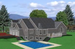 Ranch Style House Designs Ranch House Plan House Plan For Sloped Lot Traditional