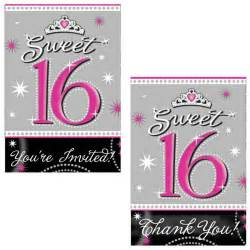 Sweet 16 Party Invitation Templates
