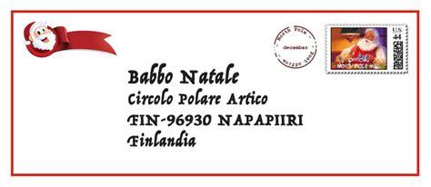 indirizzo di babbo natale letterina a babbo natale feat poste italiane la mini