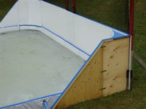 4 x 8 puck board sheets for walls boards backyard rink
