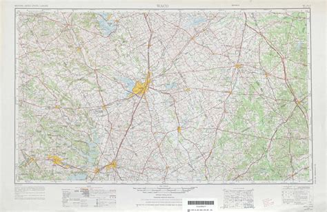 topographic map of texas waco topographic maps tx usgs topo 31096a1 at 1 250 000 scale