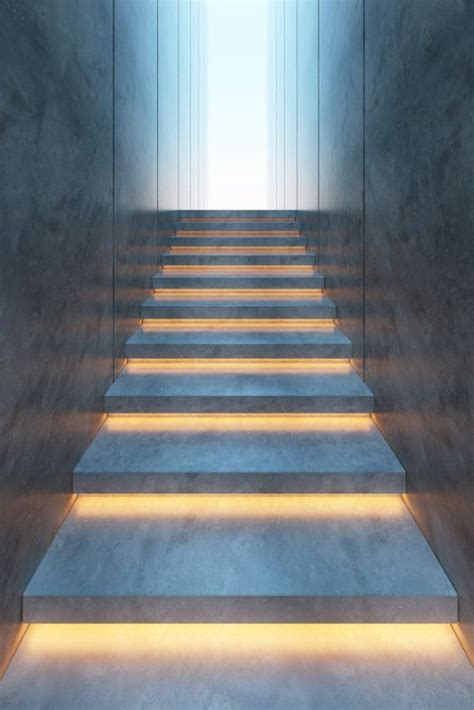 led strip lights for stairs 91 best images about stair lighting on pinterest led