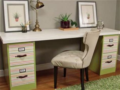 home office desk with file cabinet the house counselor diy