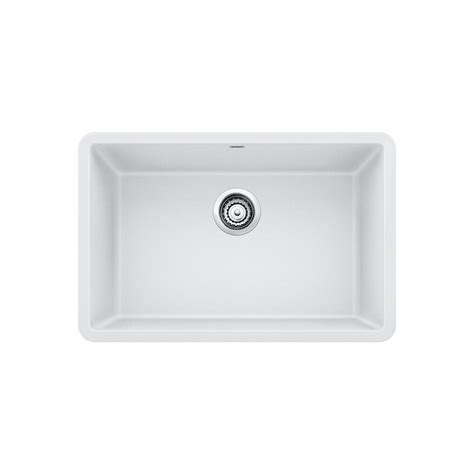 White Undermount Kitchen Sink by Blanco Precis Undermount Granite Composite 27 In Single