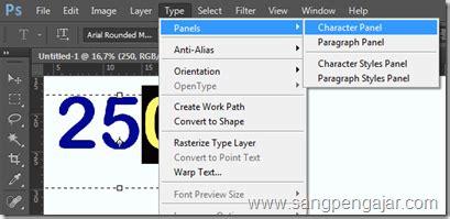 format subscript adalah cara superscript dan subscript pada photoshop
