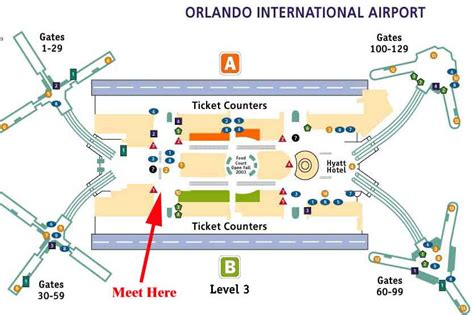 mco map mco terminal map pictures to pin on pinsdaddy