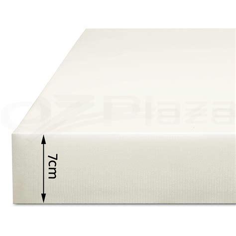 Memory Foam Mattress Protector Cover by Memory Foam Mattress Topper Size 7cm Visco Elastic