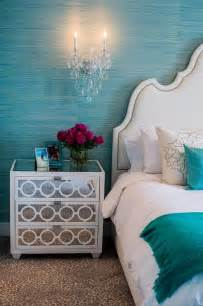 turquoise bedroom accessories 2017 grasscloth wallpaper turquoise blue bedroom with white mirror nightstands