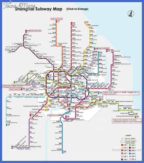 shanghai metro map shanghai metro map toursmaps
