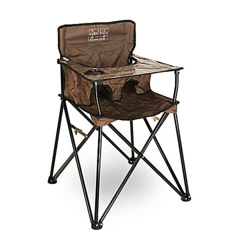 Haigh Chair Cocholatte 039 ciao baby portable high chair in chocolate brown buybuy baby