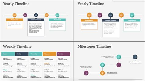 where can i get different timeline templates for
