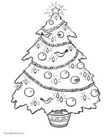 christmas tree coloring pages 002