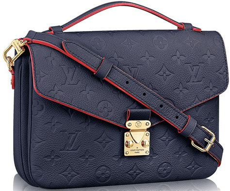 louis vuitton monogram empreinte pochette metis bag