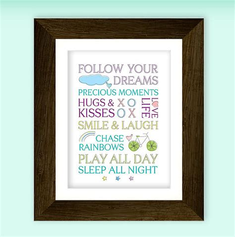 printable quotes for baby room beautiful sayings nursery art printable for baby by