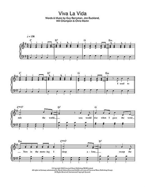 viva lyrics violin violin chords viva la vida violin chords viva