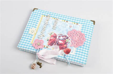 Handmade Cookbook Ideas - madeheart gt beautiful handmade recipe book cool notebook