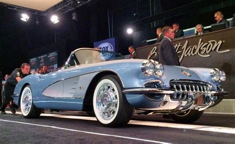 Scottsdale Records Barrett Jackson Sets Records At 2014 Scottsdale Auction Corvette Sales News