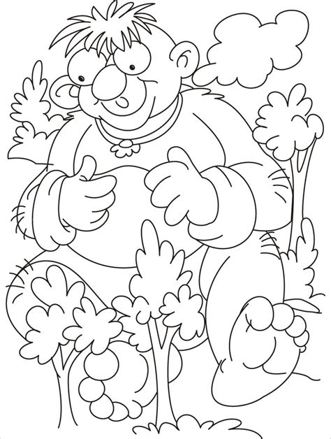 where to rest trees are too small for me coloring pages