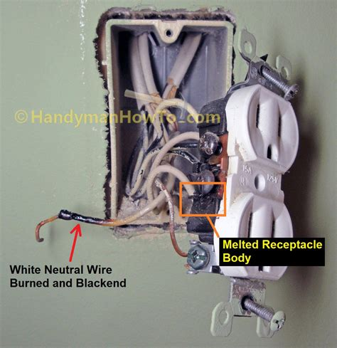 what is the black wire in electrical wiring how to repair a shorted electrical outlet part 1