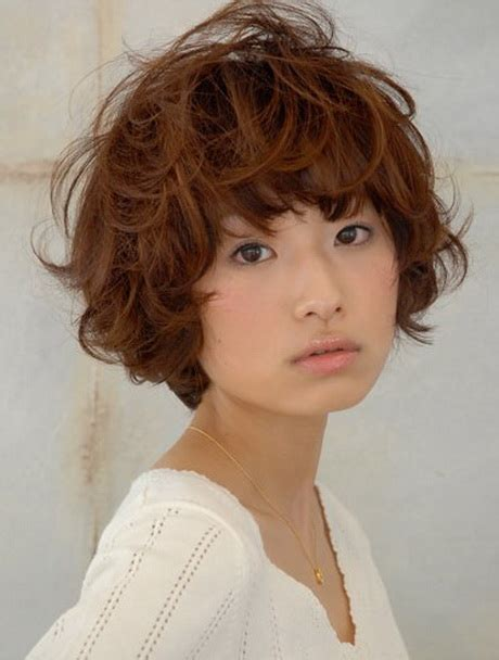 haircut styles for asian with thin and wavy ahir japanese curly hairstyles