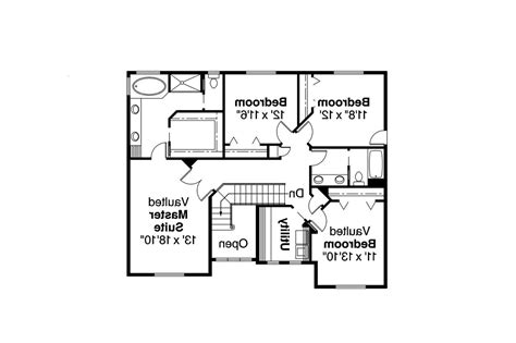 floor plans for house craftsman house plans masterson 30 455 associated designs