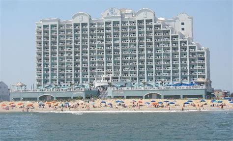 2 bedroom hotel suites in ocean city md beach side of hotel picture of hilton suites ocean city oceanfront ocean city