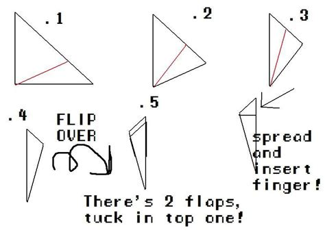 How To Make Origami Finger Claws - origami claws make diy projects how tos