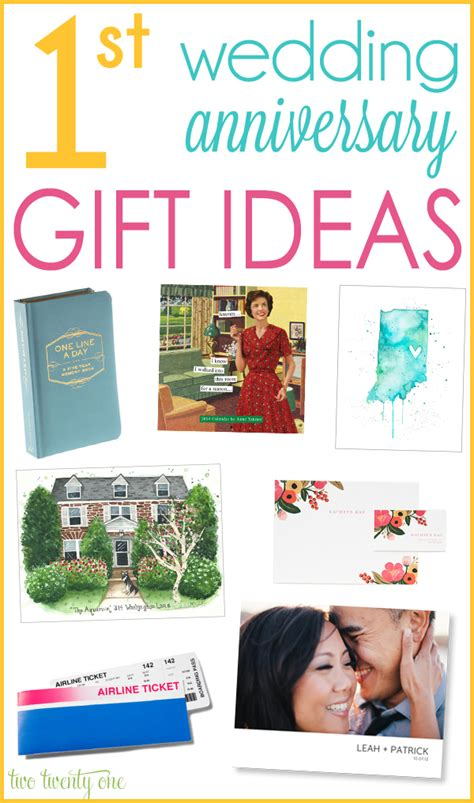 st wedding anniversary gift ideas paper gift ideas