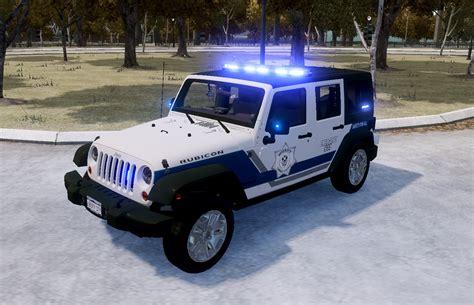 police jeep wrangler gta gaming archive