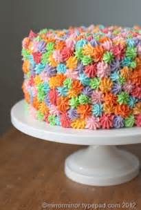 mirrormirror easy cake decorating idea