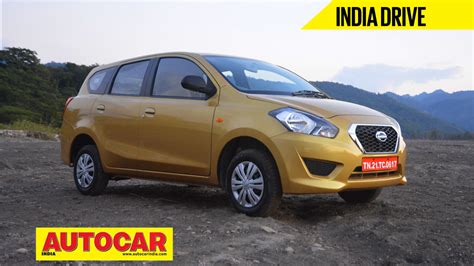 Datsun Go  MPV India video review   Cars   MPV/MUVs