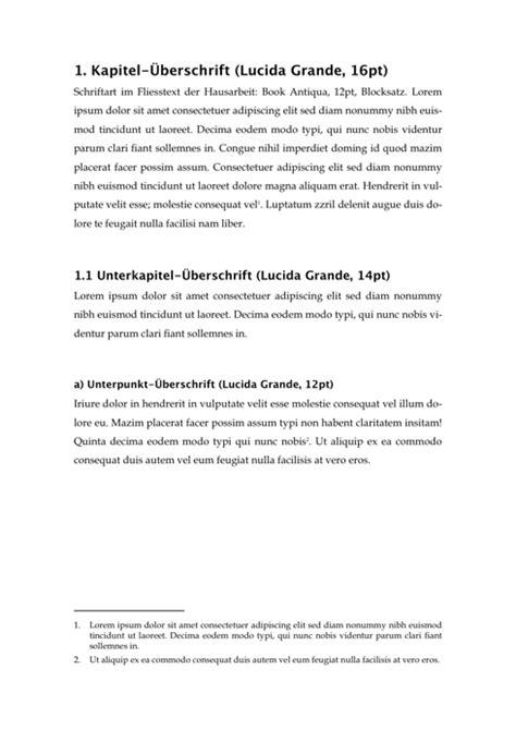 Word Vorlage Jura Hausarbeit Schriftarten Und Schriftgr 246 223 En In Der Hausarbeit I Wissenschaftliches Arbeiten Org