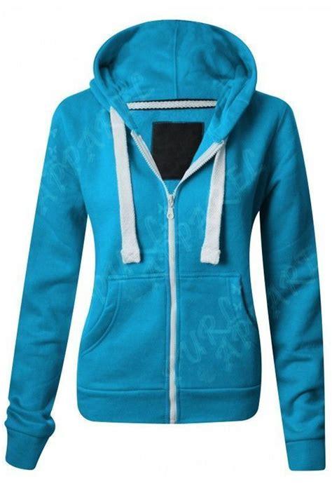Basic Jacket Hoodie Unisex With Zipper Available In 16 Colou 1 malaika hoodie boys unisex plain fleece zip up style age 2 13 years ebay
