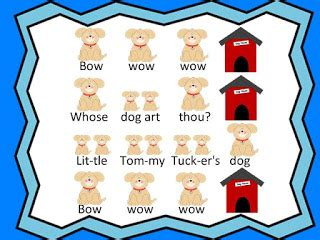 bow wow puppy lyrics kodaly inspired classroom bow wow wow