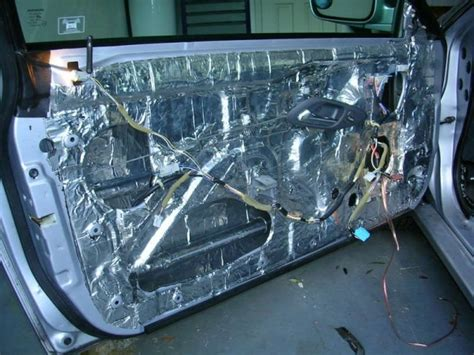 Car Door Insulation by Sound And Road Noise Isolation