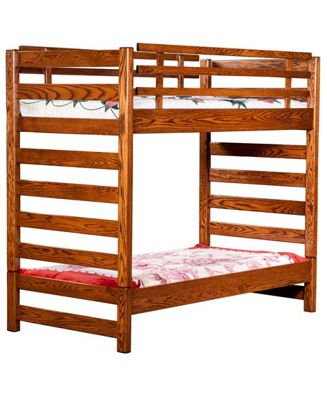 Ladder Bunk Bed Ladder Loft Bunk Bed Amish Direct Furniture