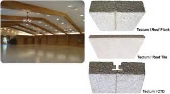 tectum deck tectum i acoustical roof deck from tectum inc cad details