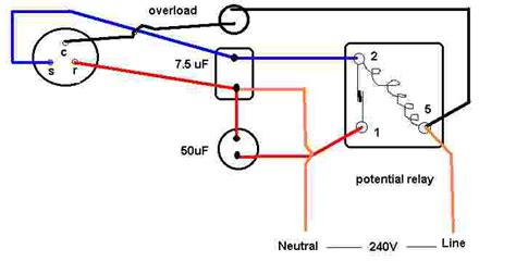 single compressor wiring to capacitor 28 images single
