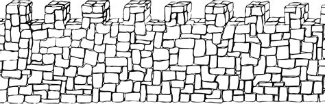 stone wall pattern clipart clipart castle walls