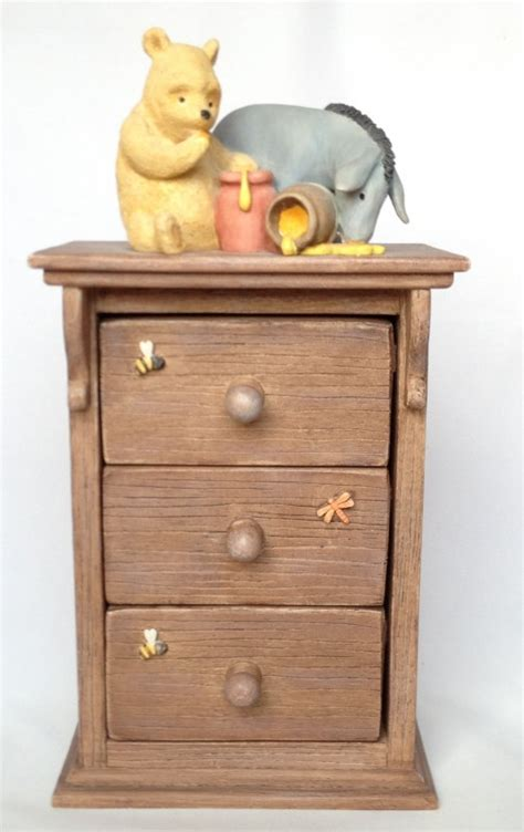 Winnie The Pooh Drawers by Nivag Collectables Border Arts Winnie The Pooh