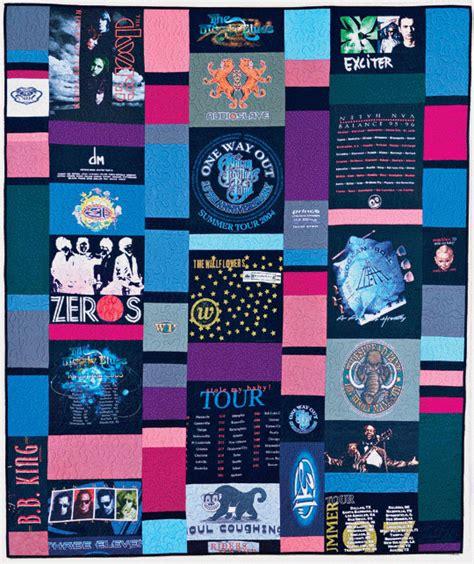 Concert T Shirt Quilt by T Shirt Quilt Allpeoplequilt
