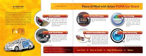 the best layout design brochure gps device brochure design