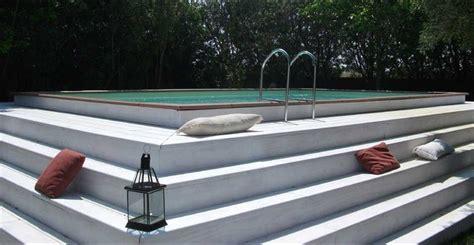 faire une dalle b ton 367 piscine hors sol laghetto dolce vita avec une terrasse en