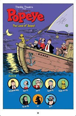 the complete okko books preview popeye 1 idw by roger langridge and bruce