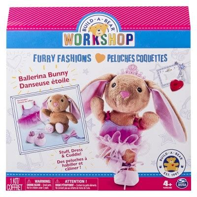 Build A Bear Gift Card Target - build a bear workshop furry fashions ballerina bunny target