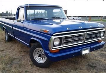 1972 Ford Truck For Sale 1972 Ford F 100 For Sale Carsforsale