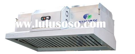 Professional Kitchen Vent Kitchen Exhaust Ventilation With Electrostatic Grease