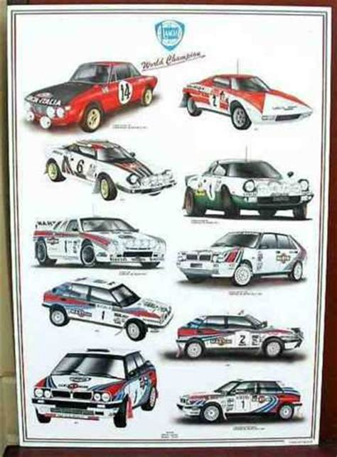 Lancia Poster Fiat Parts And Supplies