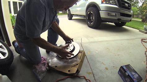 installing front brakes rotors  volvo  youtube